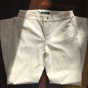 Price Drop 🎀 Ralph Lauren Jodhpur Pants in White